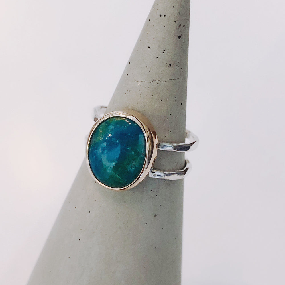 Peruvian Opal Ring - ami boutique