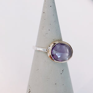 Amethyst Ring - ami boutique