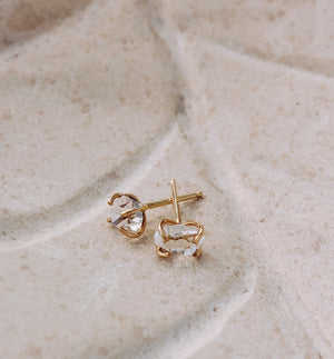 Herkimer Diamond Earring - ami boutique