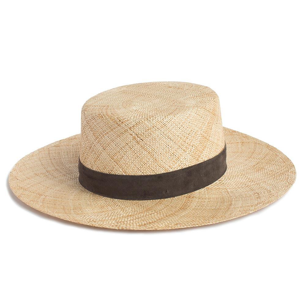 Jade Straw Hat