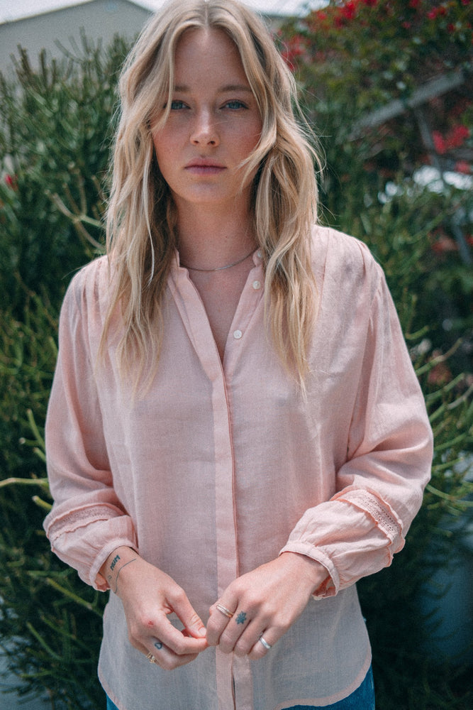 Emily Blouse - Blush