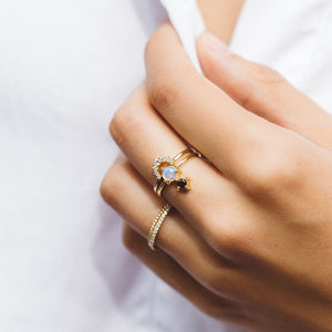 Rainbow Ring - ami boutique