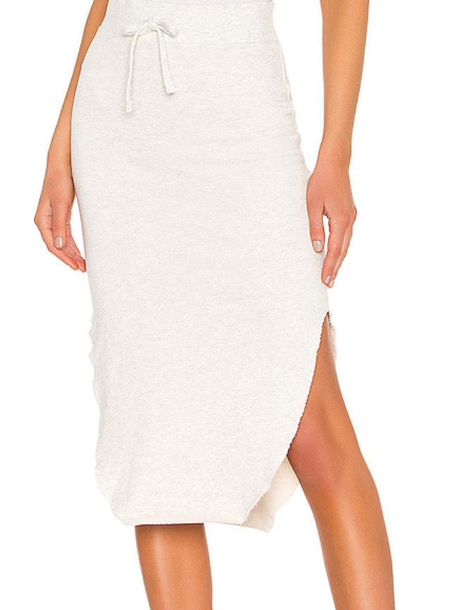 Fleece Skirt - HWhite