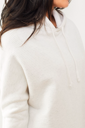 Relaxed Hoodie - Squiggle - ami boutique