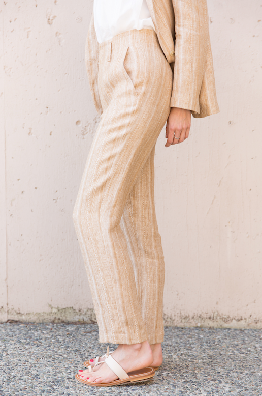 Herringbone Pants - Ambra - ami boutique