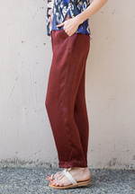 Moire Satin Pants - a m i