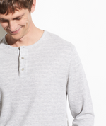 Heather Grey Henley