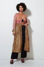 Sari Shirt Dress - Desert