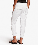 Mixed Media Pant - White - ami boutique