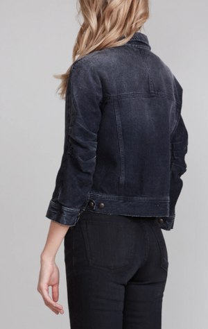 Tanner Shrunken Jacket - Jake Black - ami boutique