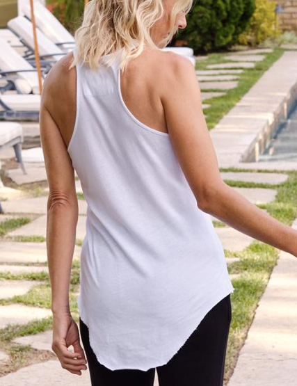Layer Tank - WHT - ami boutique