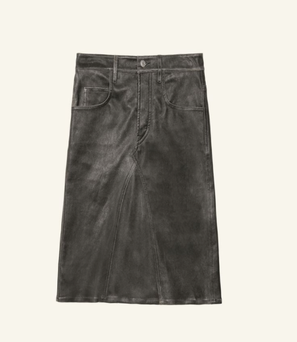 Fiali Skirt - Black - ami boutique