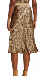 Pull On Skirt - Cheetah - ami boutique