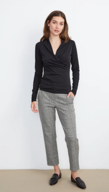 Abigail Plaid Pant