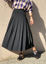 Fluid Pleated Skirt