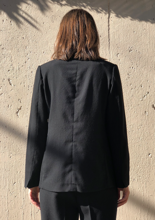 Wool Jacket - Nero - ami boutique