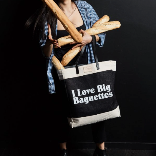 Market Bag - Big Baguettes