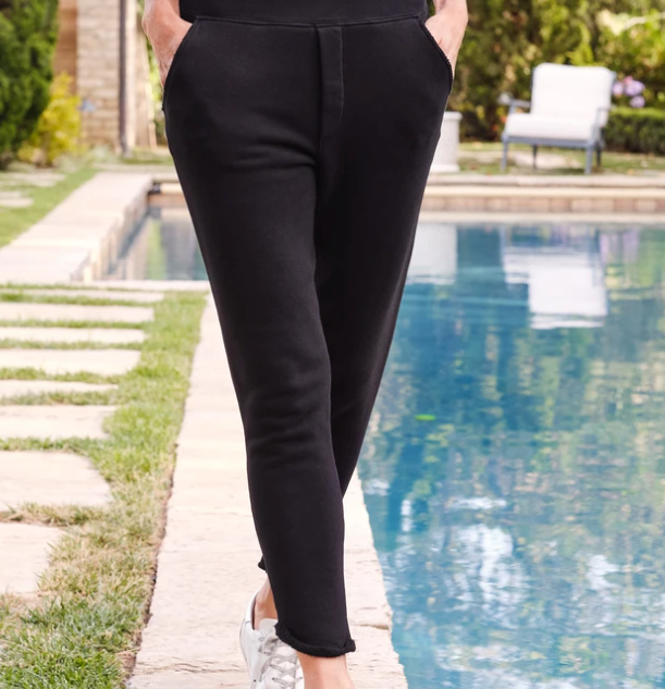 Tulip Sweatpant - Black