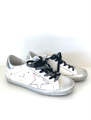 Superstar - Silver Stitch Star - ami boutique
