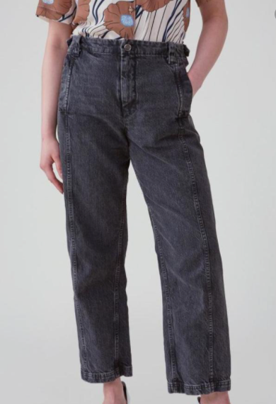 Steer Pant - Washed Blk