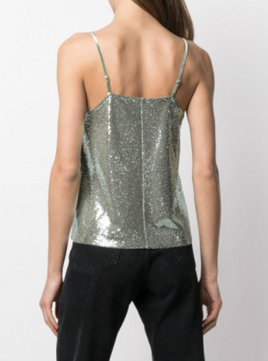 Sequin Top - Mint - ami boutique