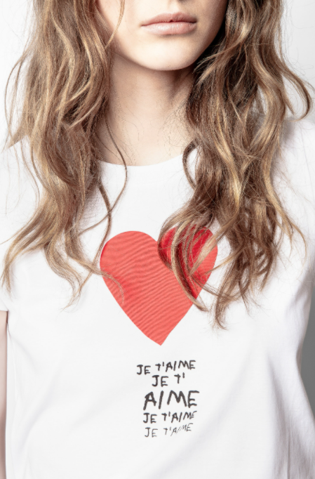 Je T'Aime Tee - ami boutique