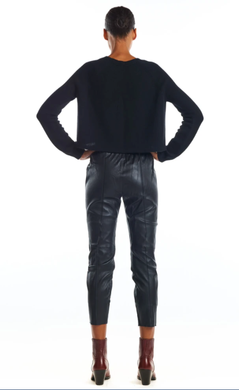 Slim Jogger - Black - ami boutique
