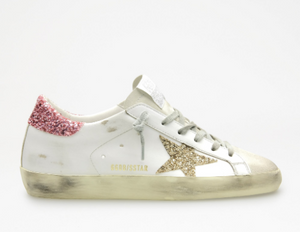 Superstar - Pink Gold Glitter - ami boutique