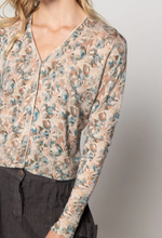Laurel Cardigan - Botanical