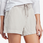 Pull On Shorts - Silver
