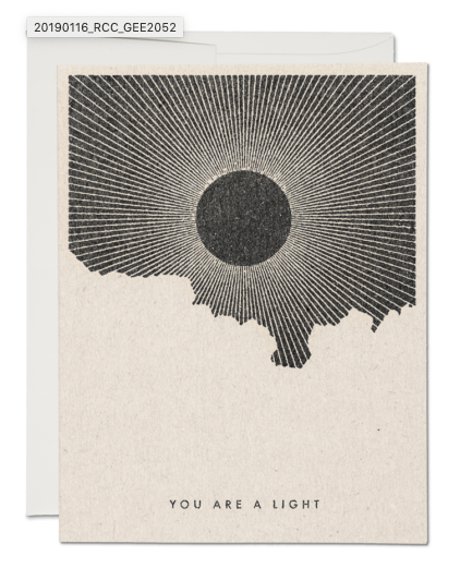 Light Card - ami boutique