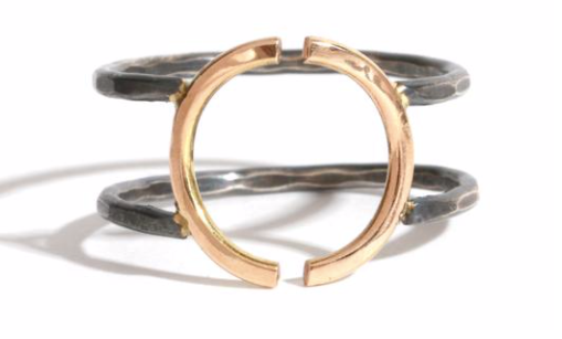 Open Crescent Ring - ami boutique