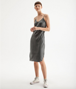 Short Cami Dress - Gunmetal
