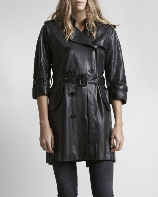 3/4 Sleeve Trench