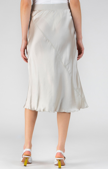 Pull On Skirt - Pearl - a m i