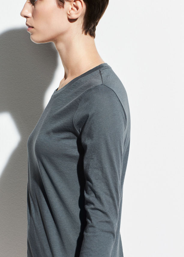 Essential Long Sleeve - Mineral Stone