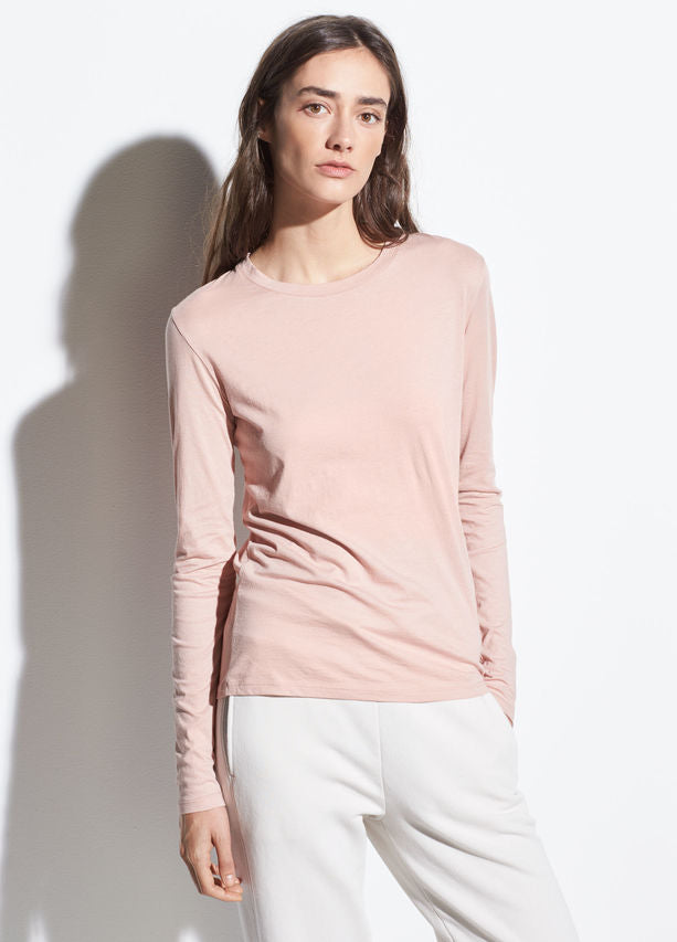 Essential Long Sleeve - Blush Dune