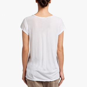 Deep V Tee - White - ami boutique