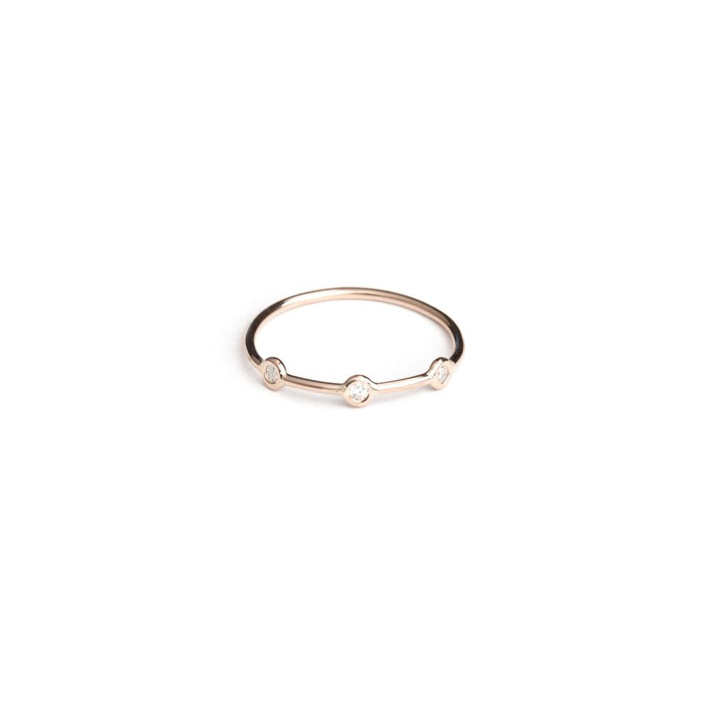 Rose-Gold Space Ring