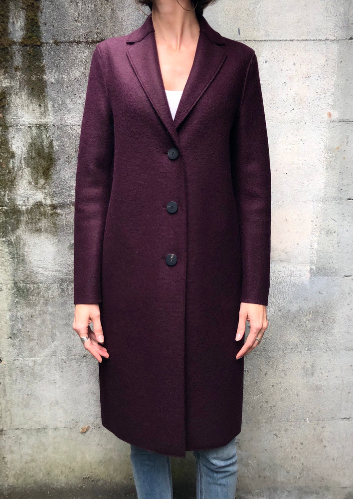 Overcoat - Bordeaux