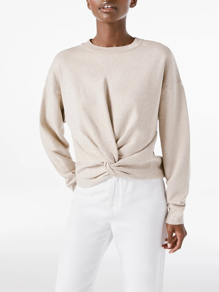 Twisted Sweatshirt - Oatmeal