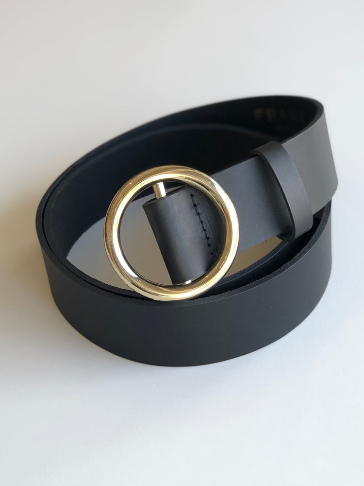 Le Circle Noir Belt - ami boutique