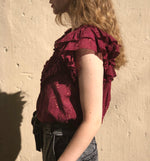 Ora Top - Mulberry - ami boutique