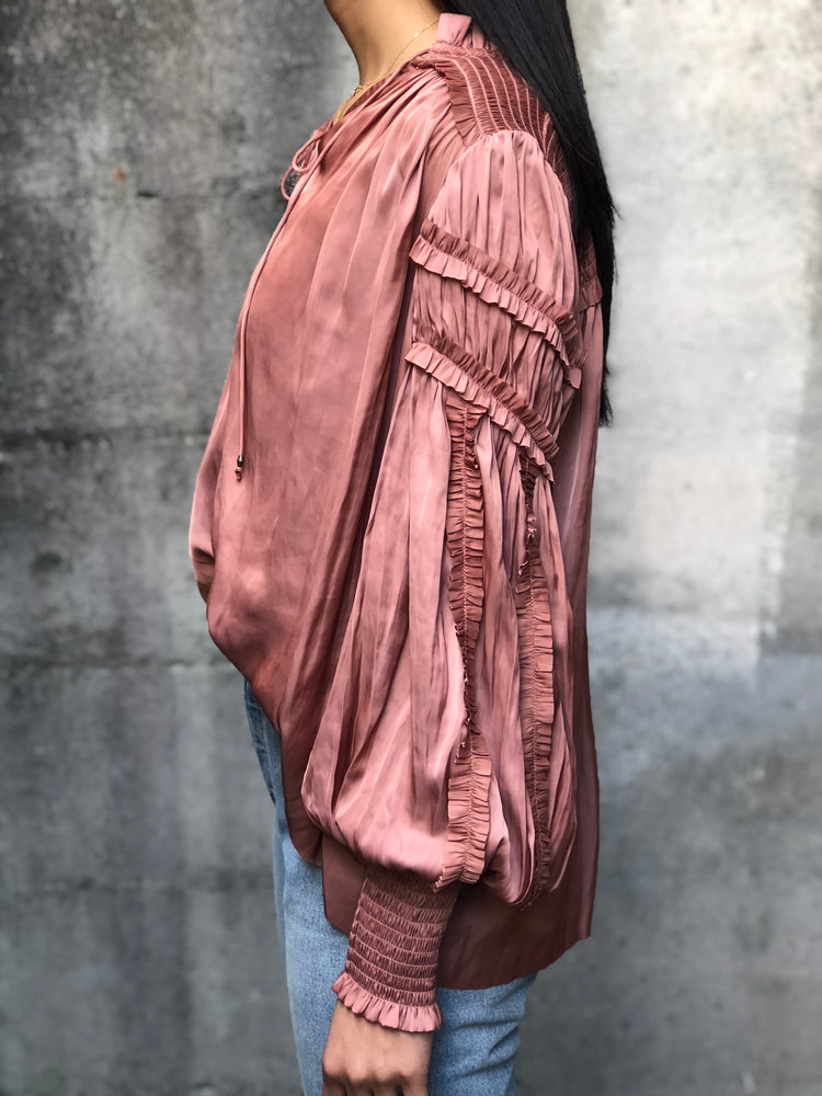 Fernanda Blouse - Copper