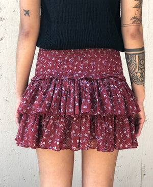 Naomi Skirt - Grenat - ami boutique