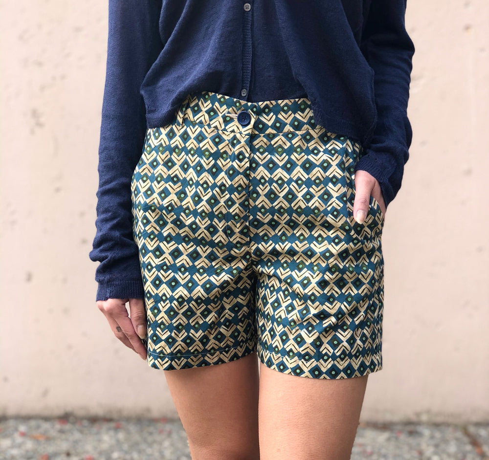 Sunset Shorts - Blue - ami boutique