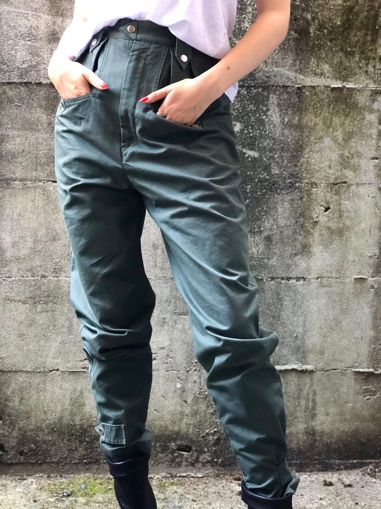 Pulcie Pant - Grey Blue - ami boutique