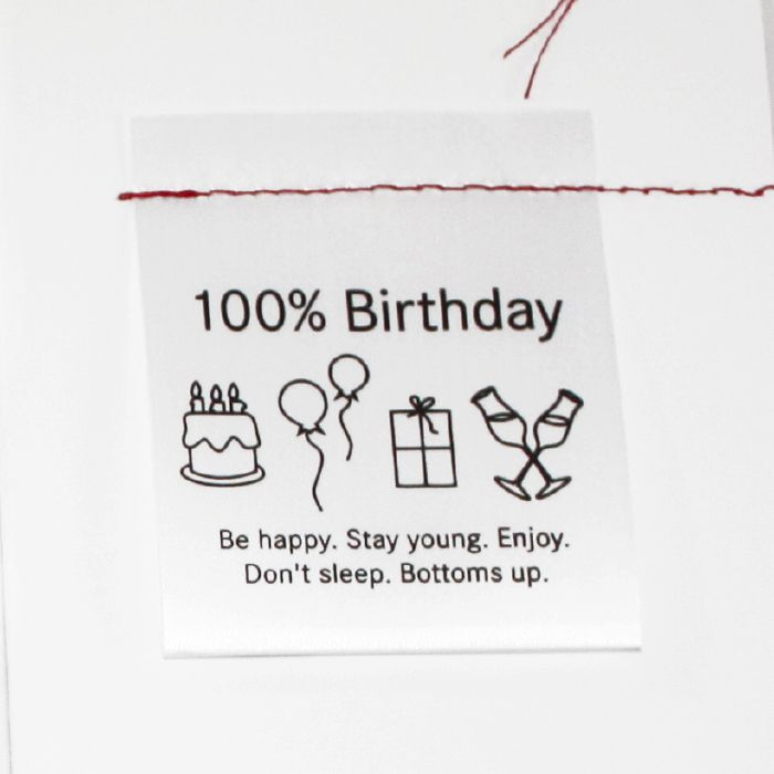Card - 100% Birthday