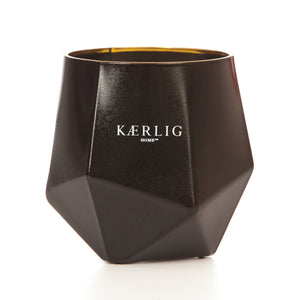 Pink Luxury Picasso Candle - Black Vessel