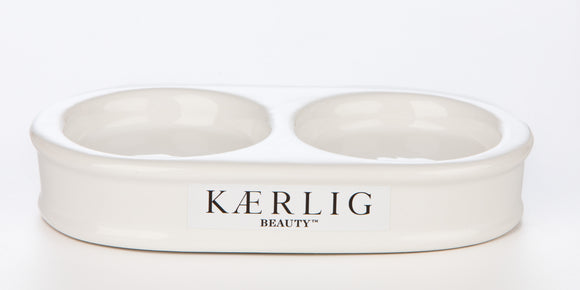 Kaerlig Beauty - Ceramic Soap and Silk Stand